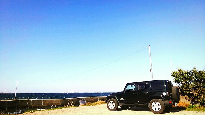 Holiday Taking Photos Relaxing Enjoying Life Hanging Out Talking PicturesJeep Wrangler  Jeep Blue Sky Japan