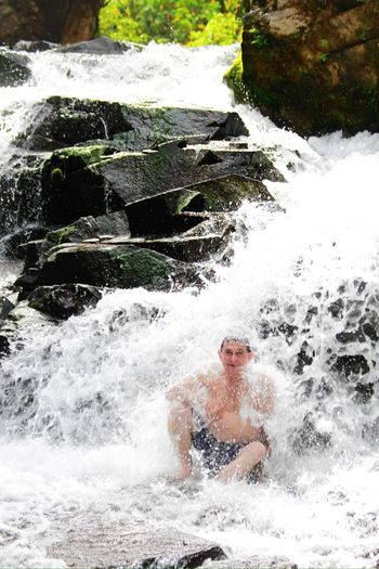 Waterfall Dad Traveling Enjoying Life Ecuador. Tierra bendita!