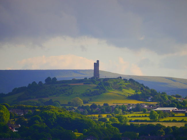 Architecture Beauty In Nature Building Exterior Built Structure Castle Hill Castle Hill, Huddersfield  Day Huddersfield June June 2017 Landscape Nature No People Outdoors Scenics Sky Tranquility Victoria Tower