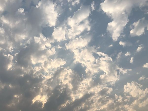 Shot_on_iphone_8plus Nature Beauty In Nature Cloud - Sky Backgrounds No People Full Frame Sky Only