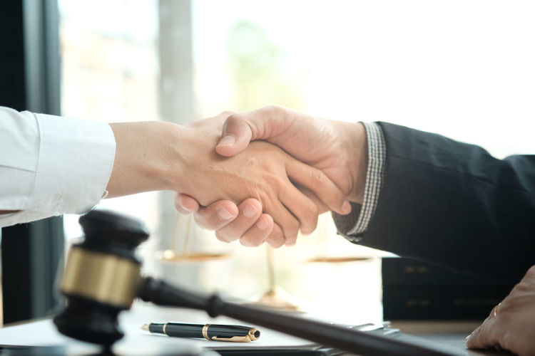 Lawyer handshake with client. Business partnership meeting successful concept Success Communication Contract Agreement Group Cooperation Business Meeting Businessman Team Teamwork Professional Corporate Greeting Handshake Partner Executive  Marketing Collaboration Talking Congratulation Finance Discussion Connection Welcome Company Investment Deal Strategy Leadership Shake Worker Partnership Consultation Together Project Hands Relationship Trust Coworker Trusted Partner Hands Together Lawyer Vision Mission Shake Hands Hand Job Spirit Teamwork Concept Human Hand Men Business Person Adult Human Body Part Indoors  Partnership - Teamwork Office Corporate Business Real People Table Occupation Finger