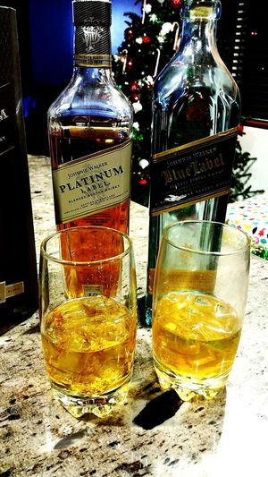 Christmas night Hanging Out Taking Photos Hello World From My Point Of View Home Sweet Home Blue Label Johnnie Walker