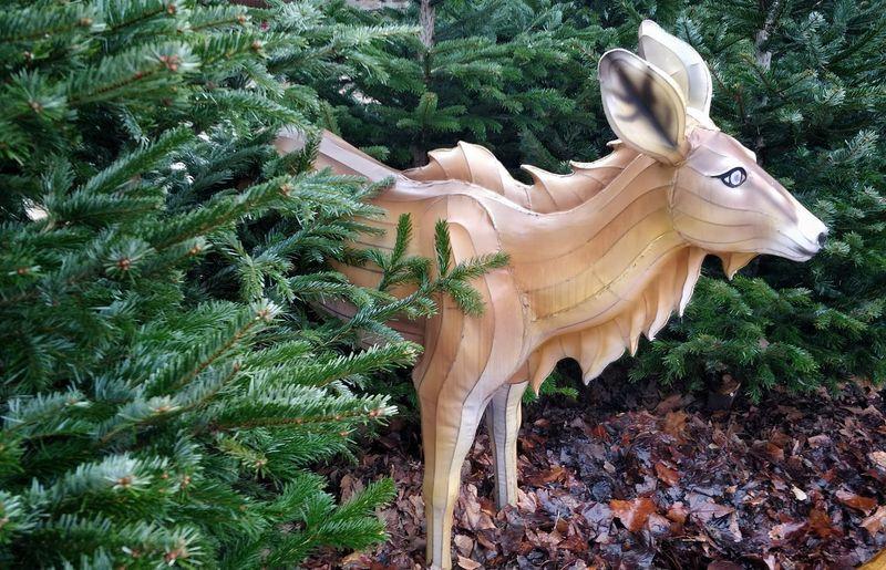 Statue of christmas tree