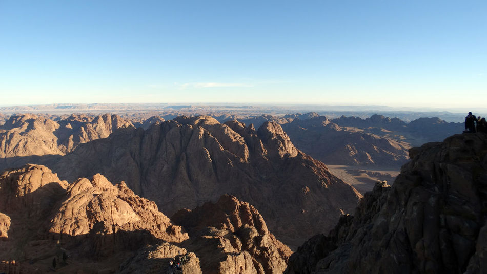 Beauty In Nature Clear Sky Day Egypt Hiking Landscape Landscape_photography Morning Mountain Mountain Range Mountain View Mousa Mountain, Saint Catherine Nature No People Saint Catherine Sinai Sky Travel Travel Destinations