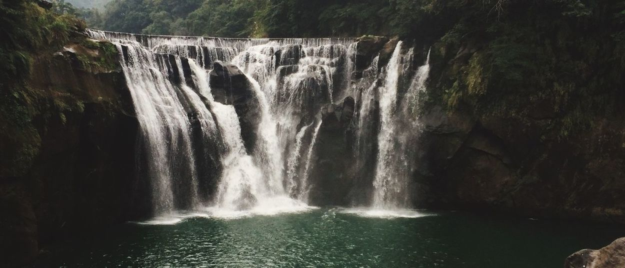 Taiwan Waterfall 台灣 十分 瀑布