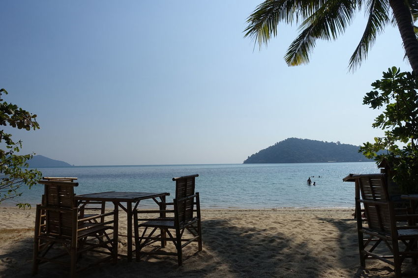 Beautiful Beach Restaurant Sea Thailand Ko Chang Island Holidays Traveling Travel Nature Nature_collection Lazy The Tourist Spotted In Thailand