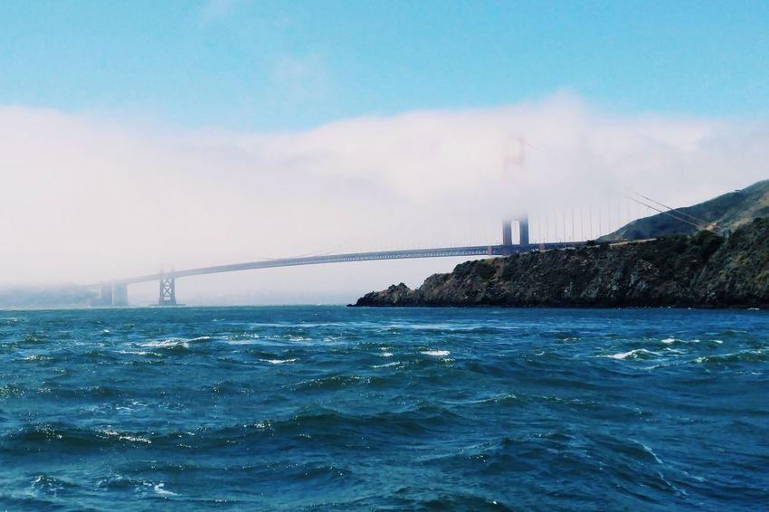 Fog_collection San Francisco Golden Gate Bridge Tourist Attraction  Bridges_aroundtheworld Americana Tourist Destination Popular Sights