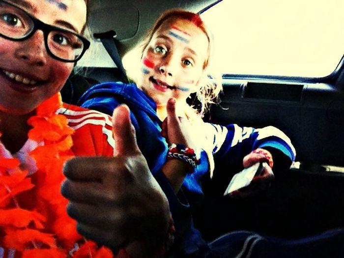 Met allerliefste Madelot naar het wk hockey!! Love her Super Leuk Den Haag Wk Hockey