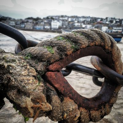 Harbor Rope No People Outdoors Close-up Day Metal Chain Chains Sea Sky Beach Photography Beach Day BEACH!  Beachlife Beach Walk Boat Harbour View Harbourside Harbour City Harbourlife Harbour Island England Countryside Cornwall Life Cornwall Photography