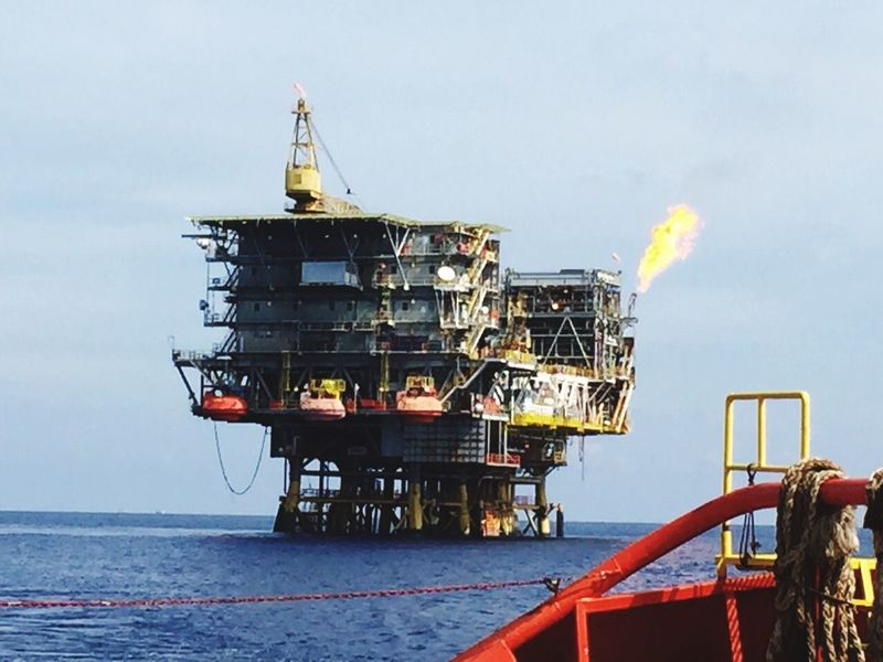 Oil Rig Offshore Petronas