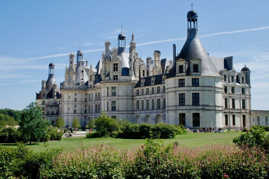 Chateau De Chambord Architecture Building Exterior Built Structure Castle Chambord Château Day History No People Outdoors Sky Travel Destinations Tree Your Ticket To Europe