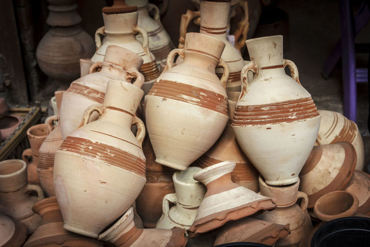 Ceramic Bowl Container Craft Egypt Egyptian Egyptian Clay Hand Made Handcraft History Military Mud No People Old-fashioned Outdoors Pots Potter Pottery Pottery Bowl Pottery Bowls Pottery Pieces Sculpture Traditional Traditional Culture Water Container