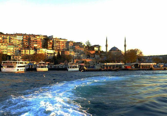 Uskudar Sahil Istanbuldayasam Turkey Deniz Vapur Acik Nice Harikabirgun World