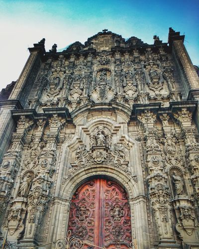 Architecture Building Exterior History Outdoors Sunset Cultures Travel Mexico Old Buildings PhonePhotography Travel Destinations Mexico City Interesting Places Architecture Cityscape