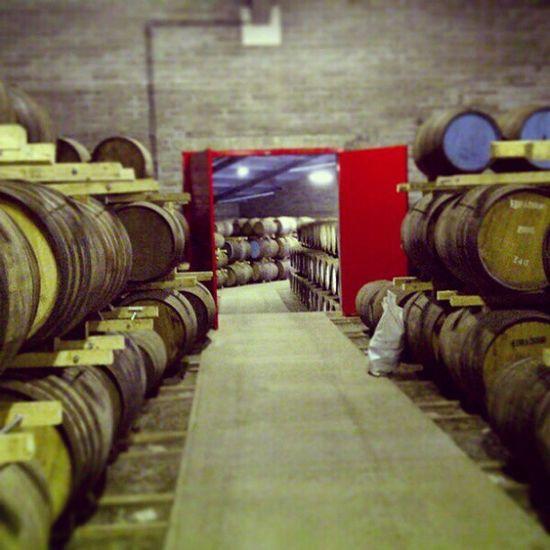 Edradour Distillery Scotland Warehouse
