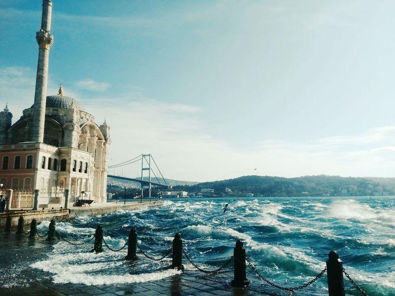 Istanbul Turkey Eyemturkey Istanbuldayasam Ortaköy Ortaköy Sahili Ortaköy Mosque Ortaköycamii Mosque Istanbul - Bosphorus Wave Waves, Ocean, Nature