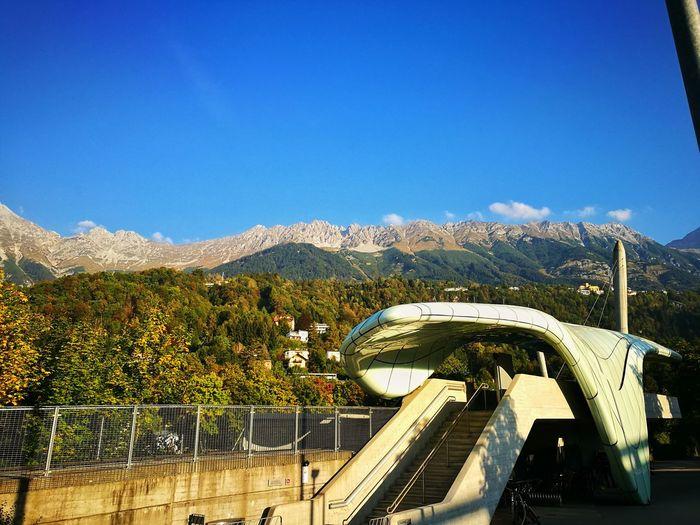 innsbrucker nordkettenbahnen Mountain Architecture Built Structure Innsbruck MyInnsbruck Nordkette Karwendel Alps Alpen Berge Mountains Zaha Hadid Architektur Morden Architect
