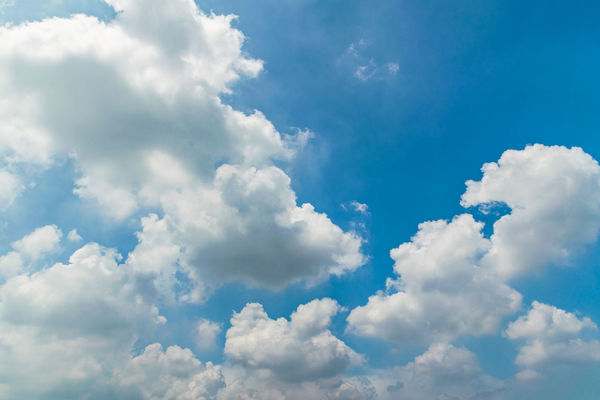 Colors and patterns of the clouds in the sky. Backgrounds Beauty In Nature Blue Cloud Cloud - Sky Cloudscape Cloudy Cumulus Cloud Day Full Frame Idyllic Low Angle View Majestic Nature No People Outdoors Scenics Sky Sky Only Softness Tranquil Scene Tranquility White White Color