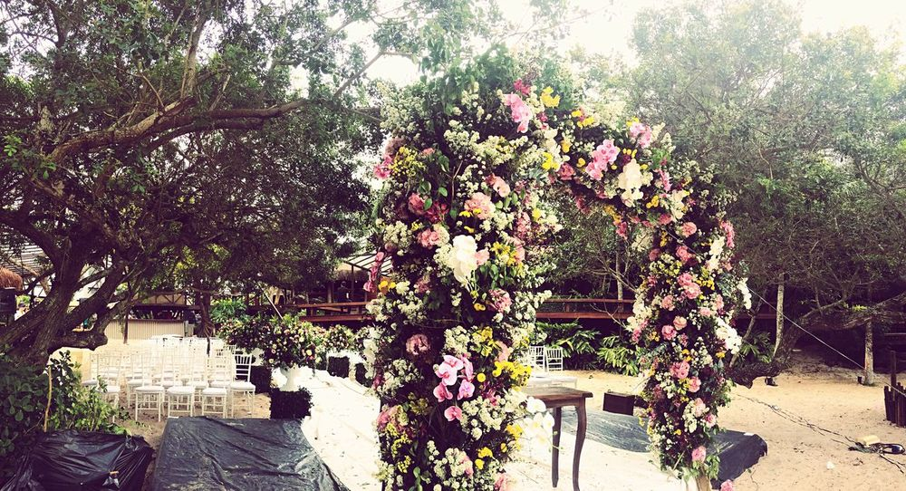 👰🏽👨🏽💍 Flower Tranquility Springtime Nature Garden Wedding Inpiration Inprogress Timetomarried Timetoparty