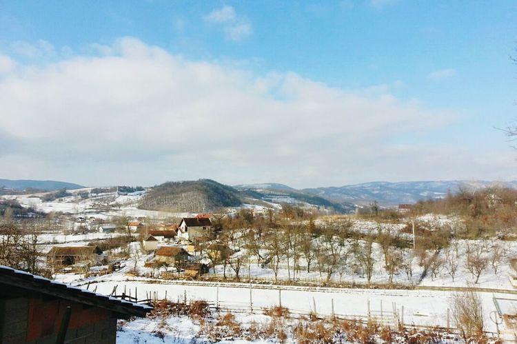 Cold Neve Winter 2K15 Memories House White Sneg Freddo Inverno Zima!!😍 Hello People
