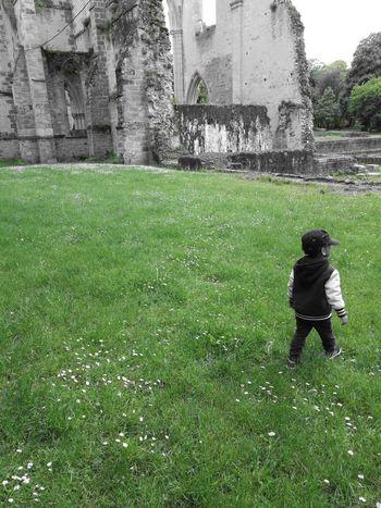 Enjoying Nature Outdoors Green Color Nature My Kid Outside L'abbaye Du Lys