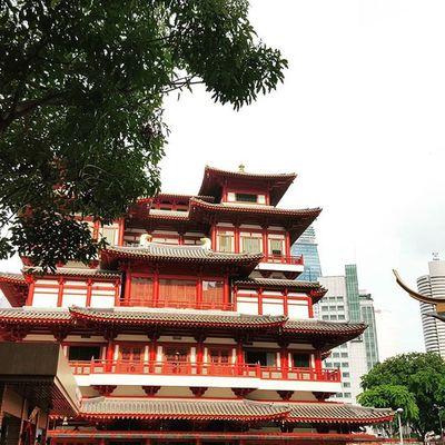 Temple. Architecture Wanderkat