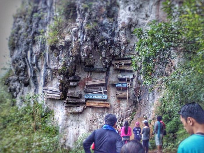 Mystical Sagada Mountain Province Hanging Coffins Unique Rich Culture Travel Photography Backpacker Tourists Nature_collection Rugged Terrain Cold Temperature Amazing Experience