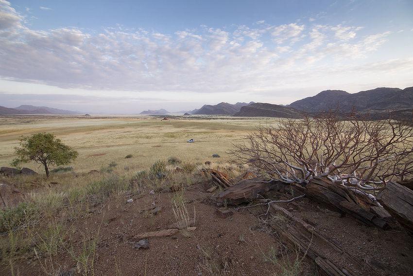 Africa Arid Climate Barren Desert Grass Mountain Mountain Range Namibia