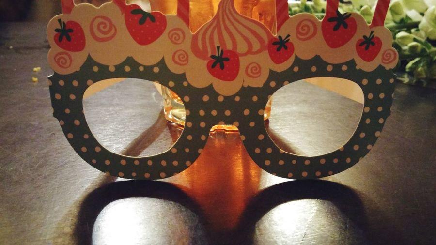 Birthday Party Decorations Close-up Eye Mask Served Carnival - Celebration Event Ornate