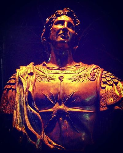 There is nothing impossible to him who will try. - Alexander the Great Bust  of Alexanderthegreat in Greektown Greek History Night Withmylove Toronto Art Artsy Sculpture Armor Historic