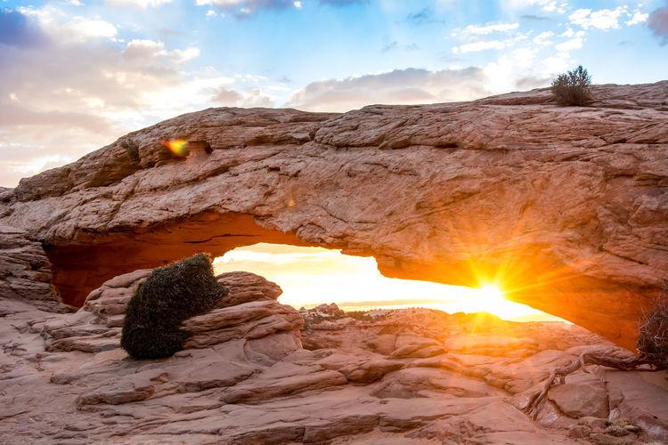 Mesa Arch Rock