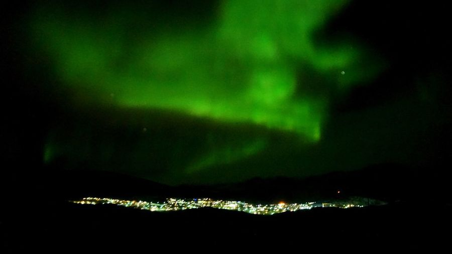 The aurora borealis were playful, this winter😀 Nature Photography My Town Nature EyeEm Nature Lover Northern Lights Auroraborealis Aurora Borealis Aurora EyeEm Best Shots EyeEm Best Shots - Nature Ilulissat This Is Greenland The Real Greenland Night Green Color No People Beauty In Nature Sky