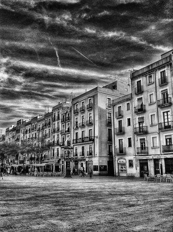 Black & White Tarragona Clouds And Sky terrorific