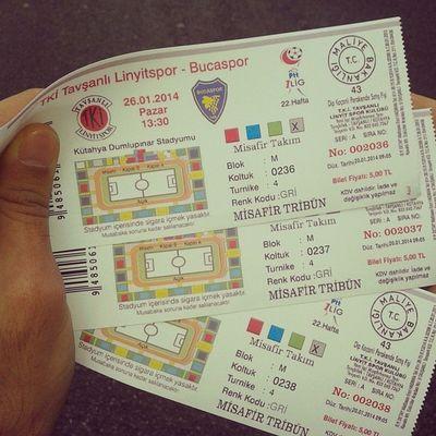 Bucaspor maçından bilet