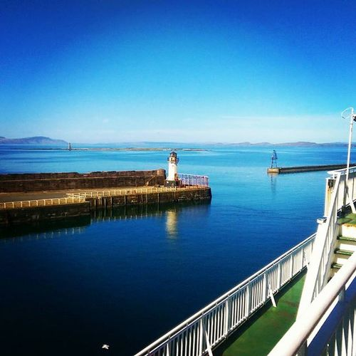 Couldn't have picked a better day for a wee trip to Arran Arran  Brodick Ardrossan Calmac Caledonianmacbrayne Ferry Sun Calm Spring Springhassprung Daytrip Scotland VisitScotland