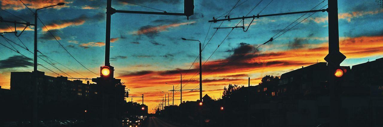 Dawn scene in