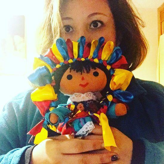 Lupita Doll & That's Me Cdmx Mexico Artisan Handmade