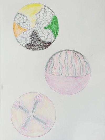 Work in progress Sephiroth Zeichnung  Lebensbaum
