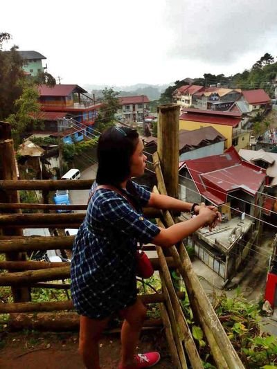 Flying High High Angle View Mountain Peak 2013 Journey Baguio City, Philippines Travel Destinations