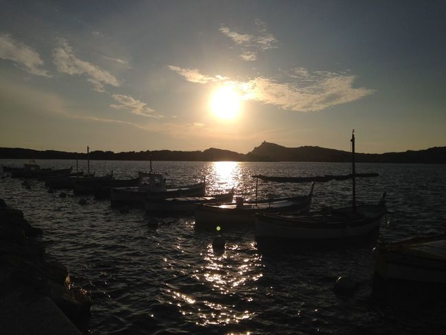Sanary Sur Mer Sunset