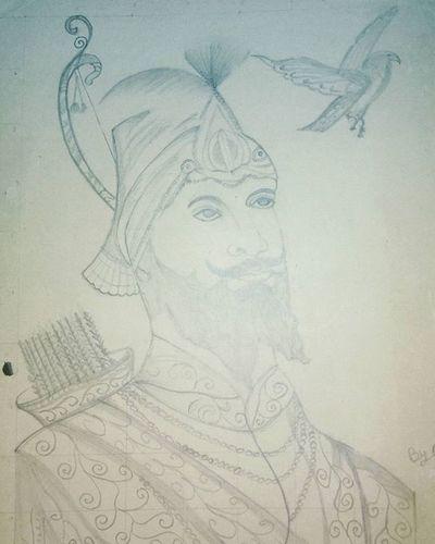 Gurugobindsinghji Sketch Madebymyfather