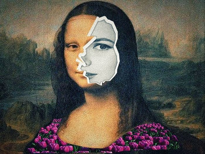 Monalisa with the another face Collageart Collage Collage Portrait Collageartwork Collage Addicted Collageoftheday Collage Photography First Eyeem Photo