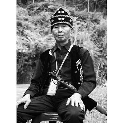 The Chairman Bw Potrait People Photography Photooftheday Instabanjar Instapahuluan