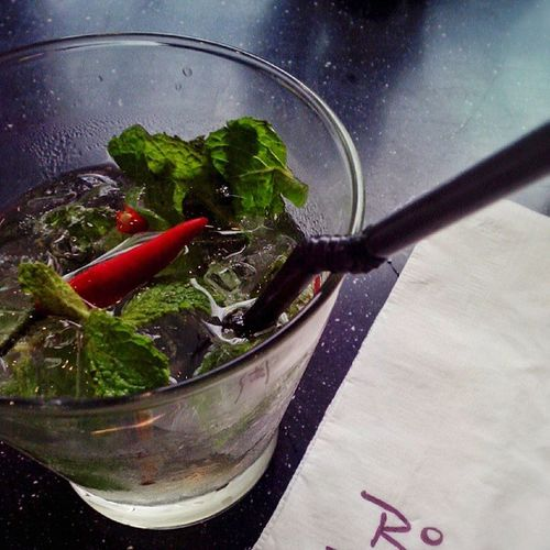 Good drink over lunch. Chilimojito Mojito Work Lifestylemall