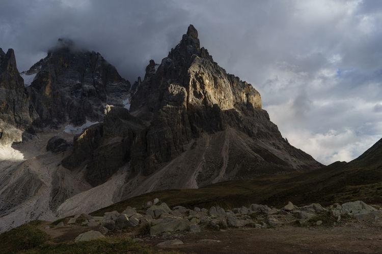 Cimon Cloud Dolomites Dolomiti Italy Landscape Mountain Mountain Peak Nature Outdoors Pale Di San Martino San Martino Di Castrozza Storm Trentino Alto Adige