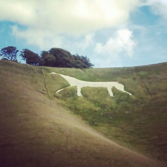 'White Horse' Cherill Devizes Wiltshire England Nature Historical