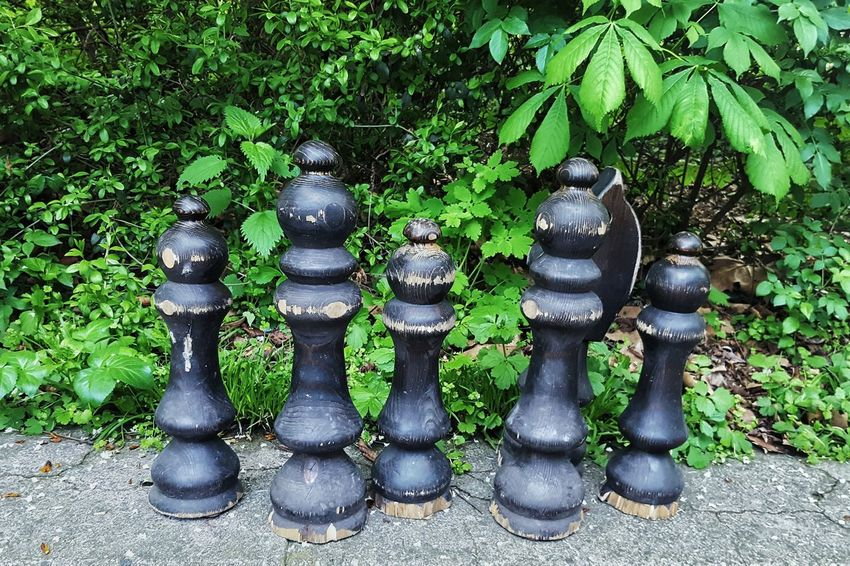 Green Color No People Day Outdoors Tree Chess Piece Full Length EyeEmNewHere Game Games Game Of Kings Strategic Strategy Game