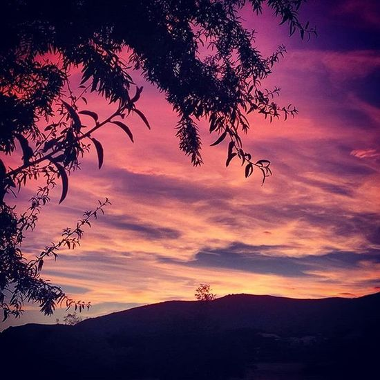 Nofilter Justkidding Bustarviejo Sunset