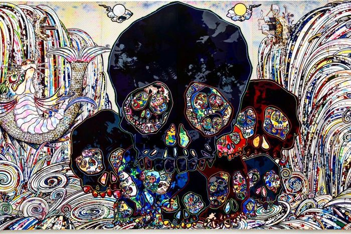 Multi Colored No People Outdoors Day Close-up Nikon NikonD5500 Thebroad Museum Art Colors Painting Losangeles Nikonphotography Photography Skulls