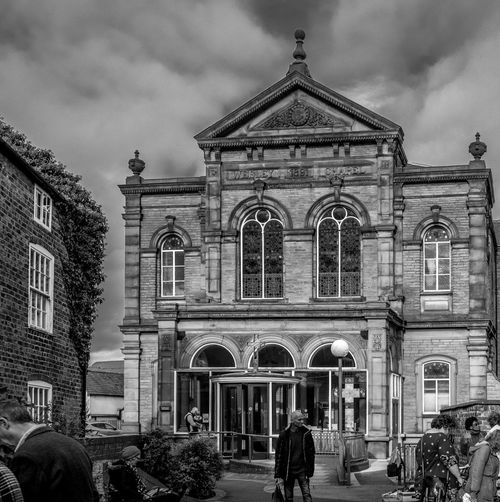 Wesleyan Chapel, Beverley, East Riding of Yorkshire Beverley East Riding Of Yorkshire Blackandwhite Black And White Monochrome Street FUJIFILM X-T2 Wesleyan Chapel Architecture Façade Religion Spirituality Place Of Worship